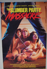 Slumber Party Massacre Horror Poster - US One Sheet
